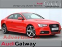 AUDI A5 2.0TDI 177HP S-LINE WITH BLACK PACK - AVAILABLE FOR IMMEDIATE DELIVERY (2014) 42KM