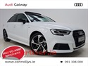 AUDI A3 1.6TDI 116BHP S LINE SALOON - BLACK PACK & PANORAMIC ROOF (2019) 17KM