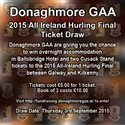 ONLINE DRAW FOR 2 TICKETS TO GALWAY KILKENNY 2015 ALL IRELAND HURLING FINAL AND B&B HOTEL STAY