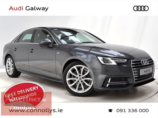 AUDI A4 2.0TDI 150BHP S LINE (2018) 25KM, Cars For Sale