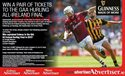 WIN A PAIR OF TICKETS TO THE GAA HURLING ALL-IRELAND FINAL