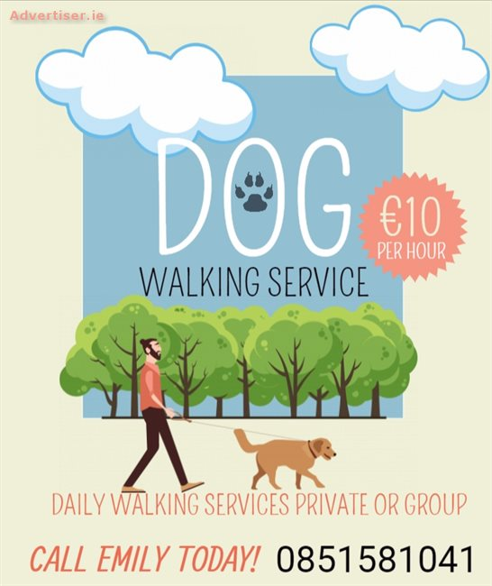 DOG WALKER AVAILABLE , Extra Services