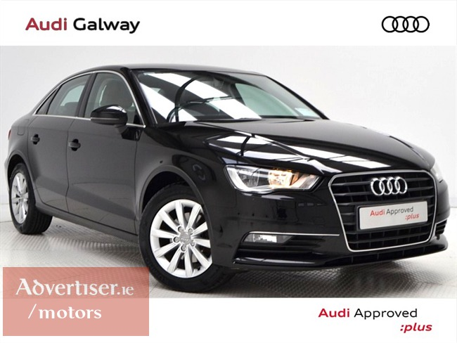 AUDI A3 1.6TDI SE **PCP FROM €223 PM** 110BHP SALOON (2016) 62,988KM, Cars For Sale