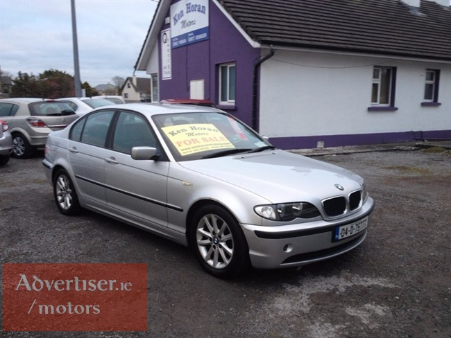 BMW 3 SERIES 2004 320D M/SPORT , BLACK LEATHER, NEW NCT (2004) 177,000M, Cars For Sale