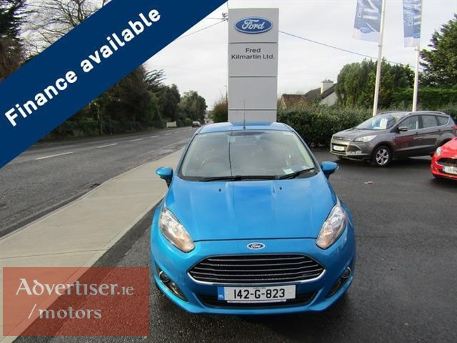 FORD FIESTA 1.25 ZETEC 60PS (2014) 63,589M, Cars For Sale