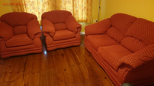 Three piece suite for sale furniture home and garden for Furniture 3 piece suites