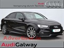 AUDI A3 SALOON 1.6TDI 110HP S-LINE WITH BLACK PACK (2015) 12KM